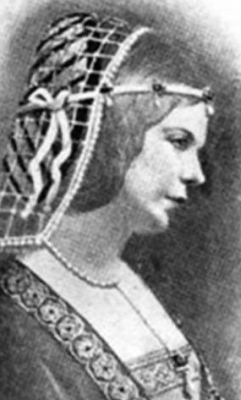 19th century illustration of Blessed Louise of Savoy, artist unknown; swiped from Wikimedia Commons