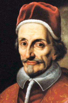 portrait of Blessed Pope Innocent XI, 1787, artist unknown