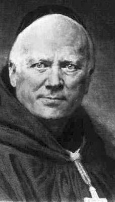 print of Father Prosper Louis Paschal Guéranger, 1874, by Claude-Ferdinand Gaillard