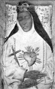 incorrupt body of Saint Eustochia Calafato