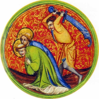 Saint Ferrutio and Saint Ferreolus of Besancon