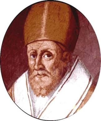 Saint Simplicio of Vercelli; swiped from Santi e Beati