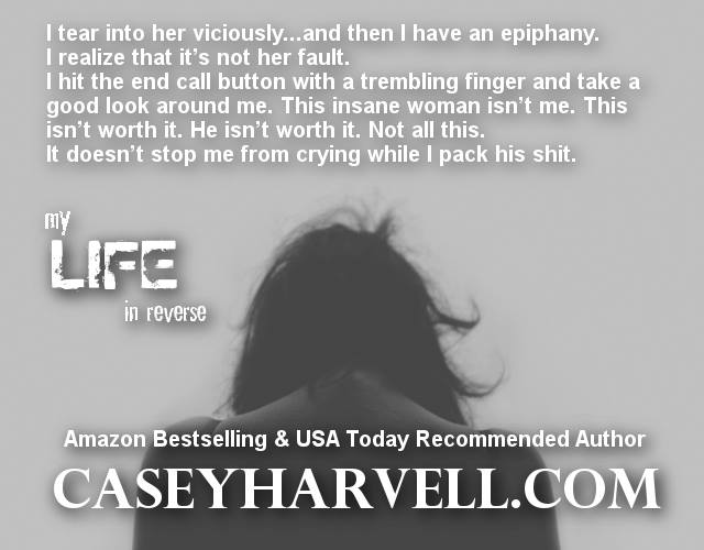 Cat's Meow Reviews that Purrr~My LIfe in Reverse by Casey Harvell