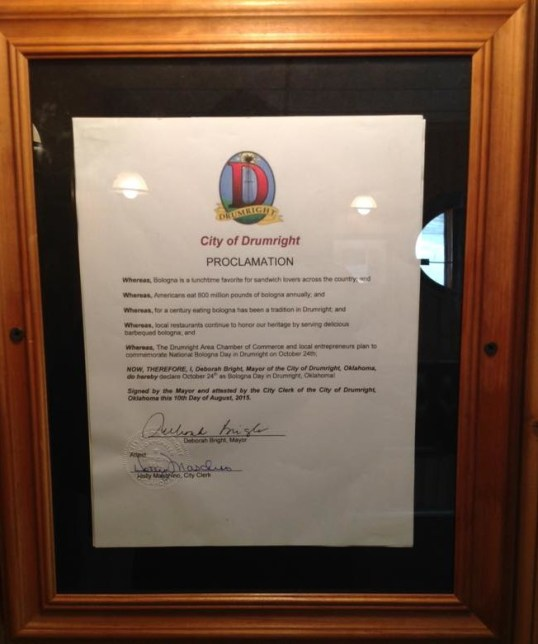 Natl Bologna Day Proclamation