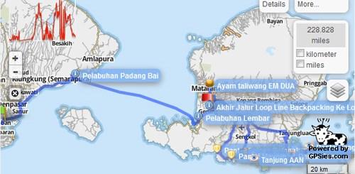 Itinerary Backpacking Ke Lombok Overland - cover