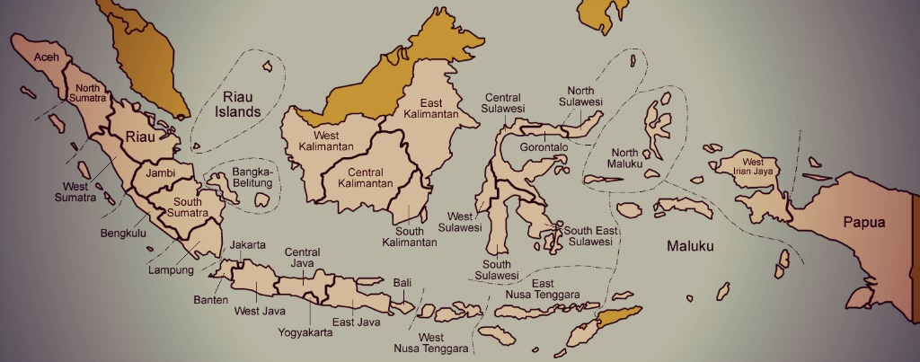 provinzen_indonesien