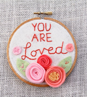You Are Loved - 4 inches