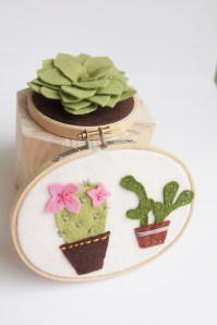Flower Cactus Wall Art