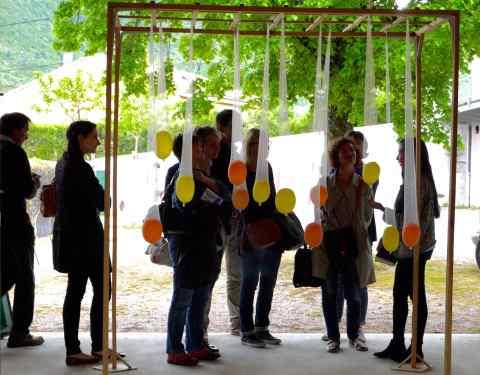 SCoT centre Ardèche &#8211; restitution artistique à Saint-Priest<br><p class=