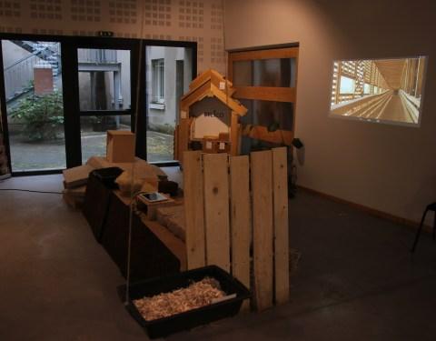 Exposition: Matières en lumière<br><p class=