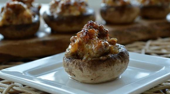 Paleo Chipotle-Grilled Mushroom Taco Bar