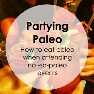 Paleo Pointers: Parties