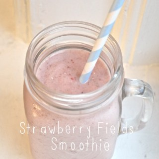 Smoothie Days: Strawberry Fields
