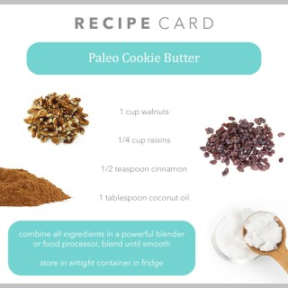 Paleo Cookie Butter