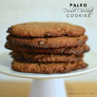 Paleo Double Chocolate Cookies