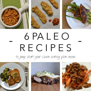Six Paleo Recipes for Your Clean Eating Plan