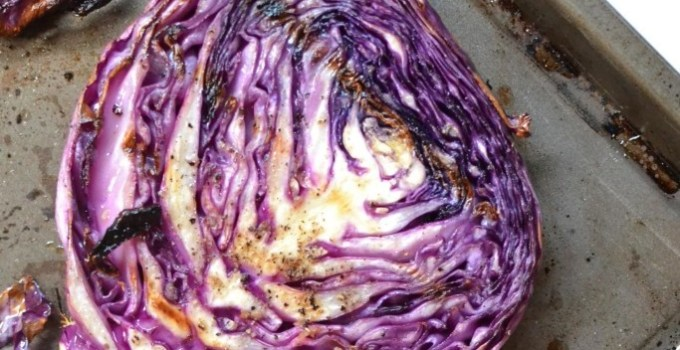 Flame Grilled Cabbage Steak