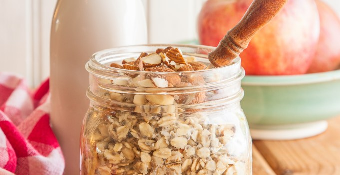 Apple-Cinnamon Overnight Oats and Spiralize It Release Day