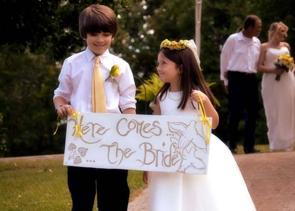 Kids at Cavender Castle Weddings