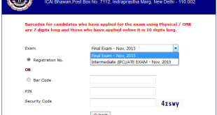 CA Admit Card Nov 2016 For CA IPCC and Final