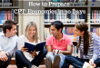 How to Prepare CPT Economics in 30 Days