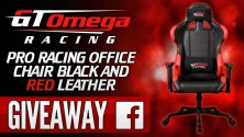 GT Omega Racing PRO Gaming Office Chair Giveaway! (Worldwide)