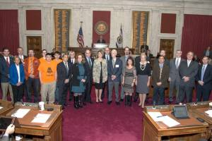 House Speaker Tim Armstead honored the Day