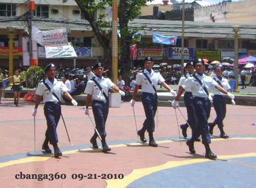 Winners of 2010 Peñafrancia Regional Military Parade