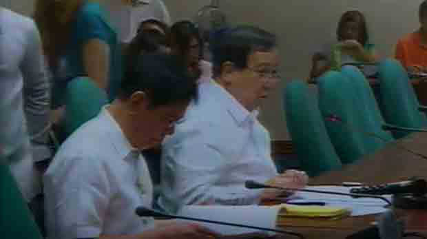 PH Senate Blue Ribbon Committee hearing on mining and illegal excavation in Zambales