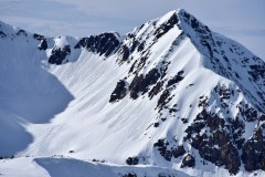 Small wet loose avalanches after a spring storm