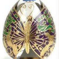 Butterfly of Winter -- Fabergé's Mardi Gras Egg
