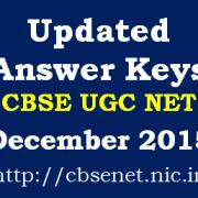 CBSE_UGC_NET_December_2015_Updated_Answer_Keys