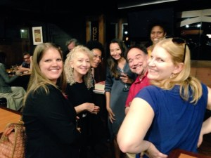 Incoming Chair, Belinda Robnett, enjoying the company of CBSM section members at the 2015 CBSM ASA Reception