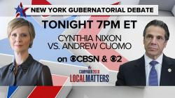 Sightly Cynthia Nixon Andrew Cuomo Debate New York Governor Democraticprimary Full Live Replay Cbs News Cynthia Nixon Andrew Cuomo Debate New York Governor