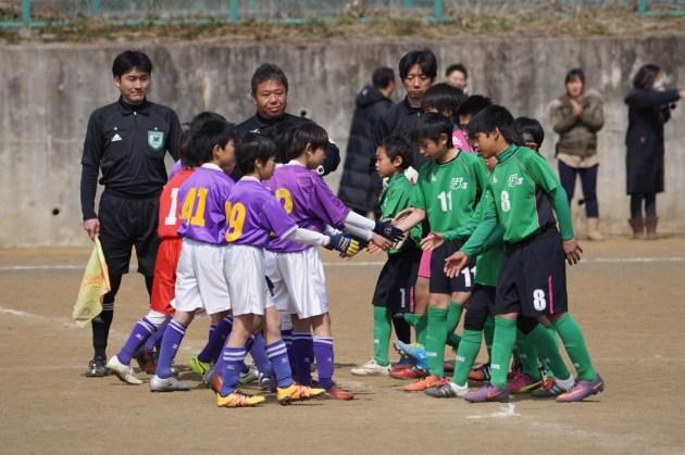 第32回たましんカップ八王子招待少年サッカー大会ベスト16(2018.3卒団生)