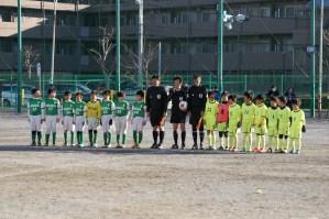 若葉台FCの勝利でした!