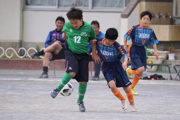 東京都U-12サッカー大会前期リーグ戦開幕