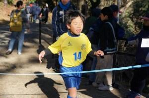 第2位 3年生14番 マラソン初挑戦で立派な成績!