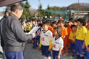 東八王子FCの皆さん、優勝おめでとうございます
