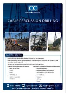 Cable percussion