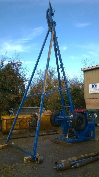 Cable Percussion Drilling Rigs