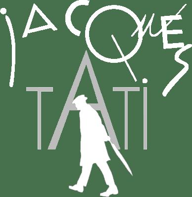 Logo tati blanc