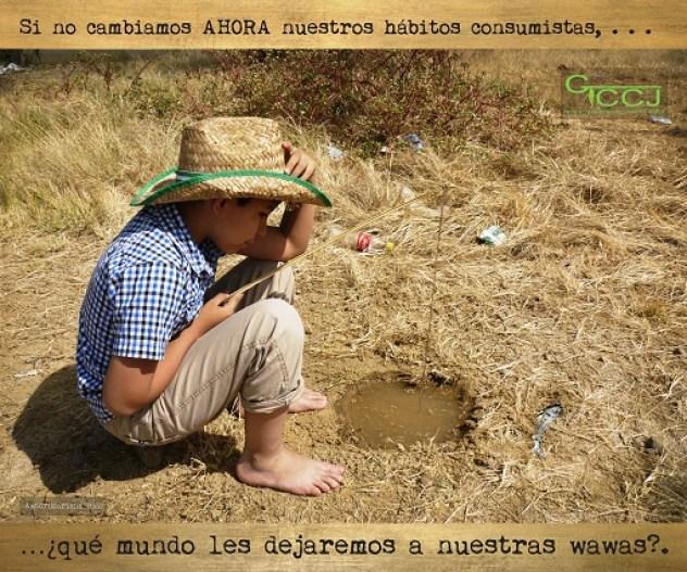 """Fotografía enviada en el marco del concurso """"Ponle rostro al cambio climático"""" organizado por el GTCC-J el año 2013."""