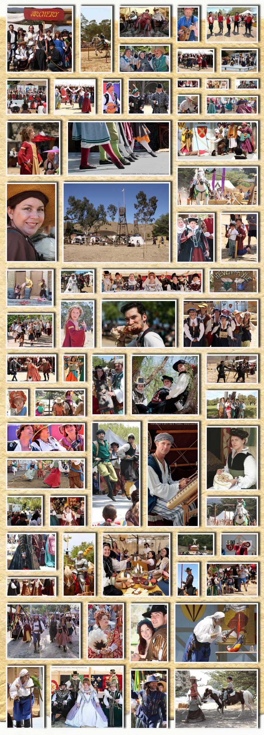 Central Coast Renaissance Festival Entertainment
