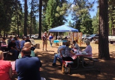 CCWD Speaks at Meadowmont Property Owners Association BBQ