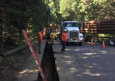 Construction Closures on Blagen Road Through August 5