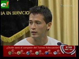 """Edivaldo: """"De niño soñaba jugar en la selección boliviana"""""""