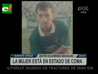 """Ex futbolista Hugo """"Paipa"""" Pinto es detenido por brutal agresión a su esposa"""