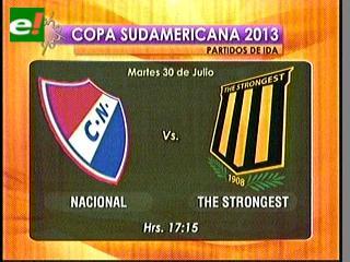 The Strongest visitará a Nacional el martes 30