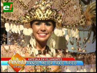 Miss Pando 2012: Mejor Traje Típico